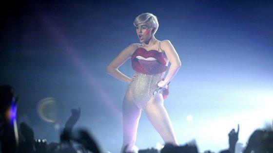 Miley Cirus é uma das artistas mais procuradas no Youtube.