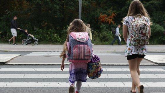 As crianças levam, por norma, uma semana a adaptar-se à nova rotina