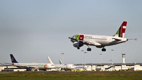 Mais de 1/3 dos voos programados para este domingo foram realizados