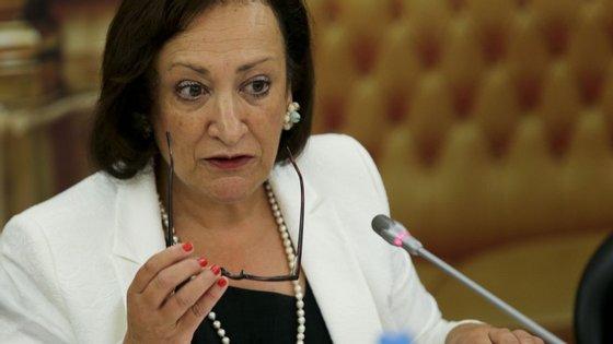 Joana Marques Vidal é atualmente a Procuradora-Geral da República
