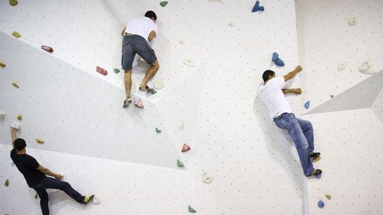 Escalada indoor poderá fazer-se em Lisboa