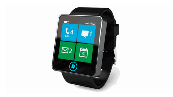 Utilizadores já começam a imaginar como será o desenho do smartwatch da Microsoft (Imagem conceitual).