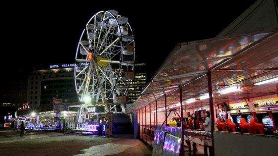Hoje em dia, os terrenos são usados esporadicamente para a instalação de parques de diversões de curta duração