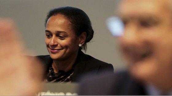 A empresária angolana, Isabel dos Santos.