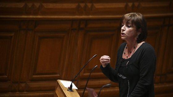 Cecília Honório é deputada do Bloco de Esquerda desde 2005