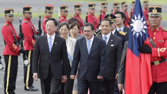 O primeiro-ministro precisou que o presidente Ma Ying-jeou aceitou a demissão