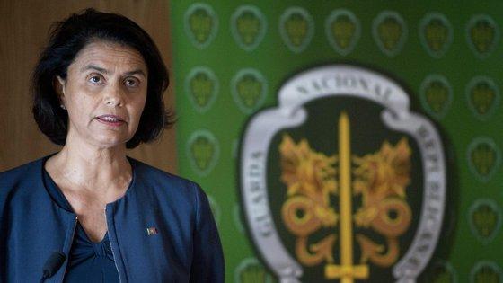 Teresa Morais, secretária de Estado de Assuntos Parlamentares e da Igualdade