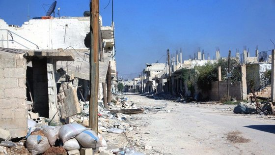 Foram ainda mortos oito combatentes das Unidades de Proteção do Povo Curdo e 17 'jihadistas'