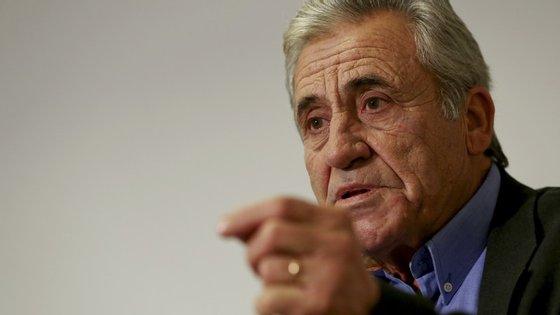 """Jerónimo de Sousa falou à entrada para uma reunião com """"independentes, democratas e patriotas"""""""