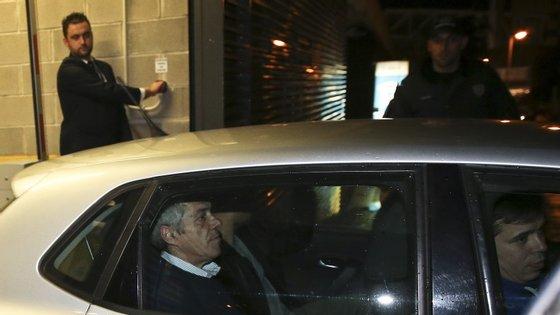 João Perna era motorista de José Sócrates quando foi detido