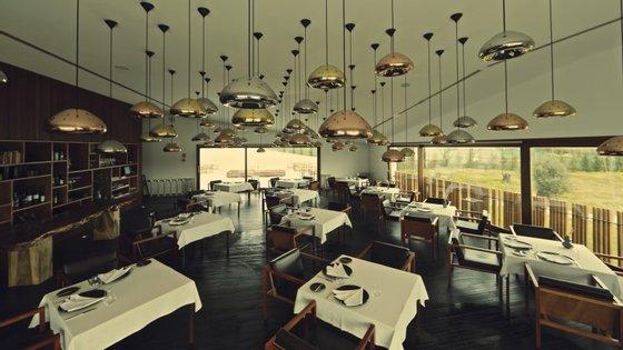 Restaurante do L'And Vineyards, no Alentejo