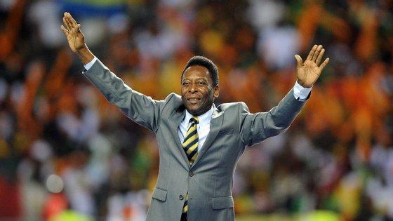 A última vez que Pelé esteve internado no Hospital Israelita Albert Einstein, em São Paulo, foi a 9 de dezembro de 2014
