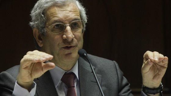 Carlos Tavares, presidente da Comissão do Mercado de Valores Mobiliários