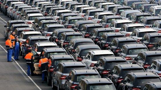 Produção automóvel aumentou até novembro