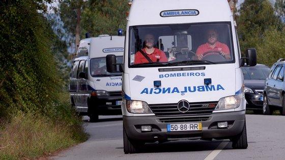 Os feridos foram transportados para o hospital de Pombal