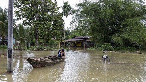 Chuvas intensas na Malásia