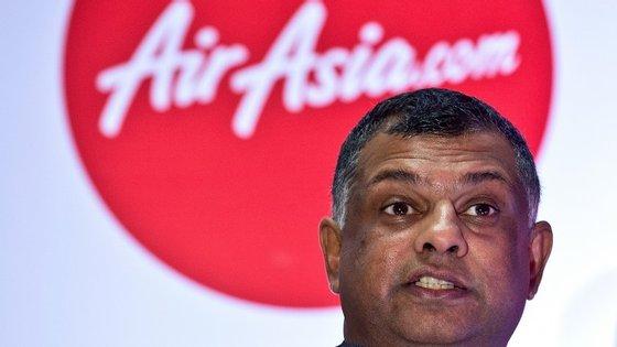 Tony Fernandes comprou a Air Asia em 2001