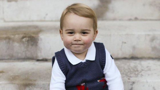 George tem quase 17 meses