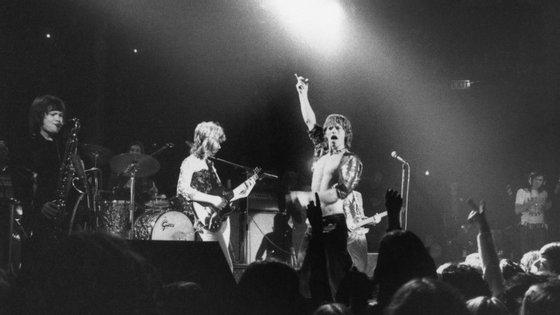 Os Rolling Stones em 1971