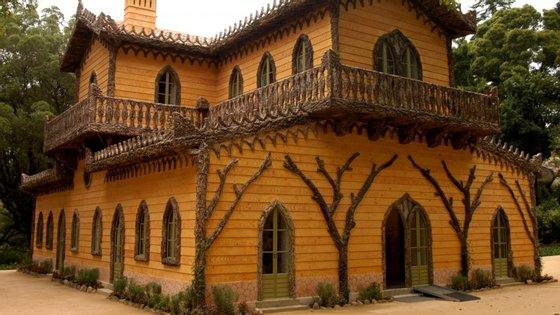 Os trabalhos de recuperação do Chalet e Jardim da Condessa d'Edla, realizados pelos Parques de Sintra, foi muito elogiado