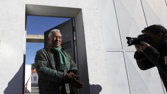 A campanha de António Costa para as legislativas teve o apoio do ex-primeiro-ministro, que o secretário-geral socialista visitou em Évora no ínicio do ano