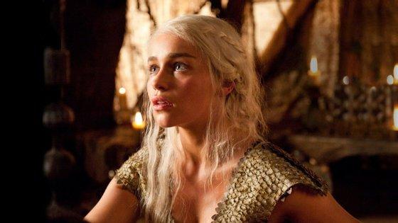 """Daenerys Targaryen, personagem da série """"A Guerra dos Tronos"""""""