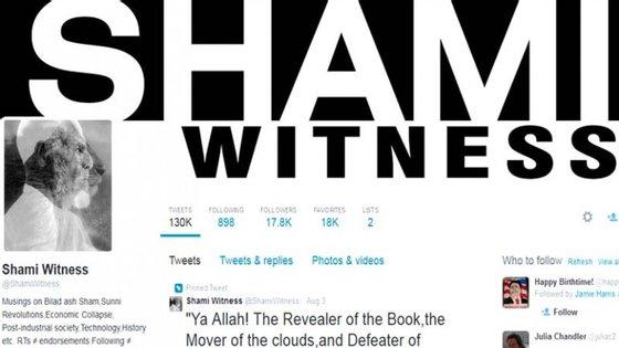 Mehdi Masroor Biswas era o gestor da conta da rede social Twitter, @shamiwitness, que informava frequentemente dos avanços do EI no Iraque a e na Síria