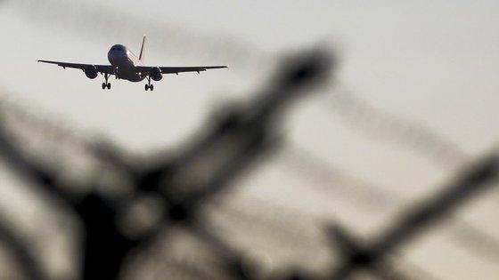 Depois de aterrar comprovou-se que o avião não estava em perigo