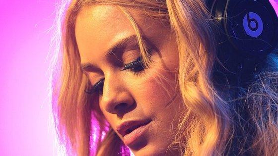 Na imagem, a Dj Havana Brown na MTV Summer Party, na Austrália, em 2012
