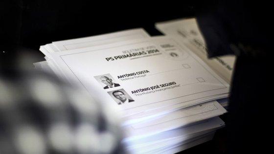 A primeira vez que o PS realizou eleições primárias foi na escolha do candidato a primeiro-ministro