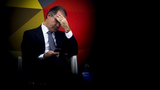 """""""O que me preocupa é o futuro da PT Portugal"""", apontou António Pires de Lima"""