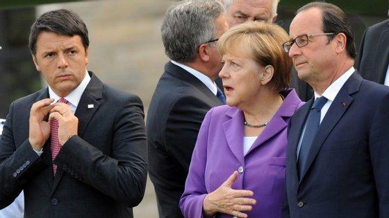 Angela Merkel será um dos líderes europeus que estarão em Paris no domingo