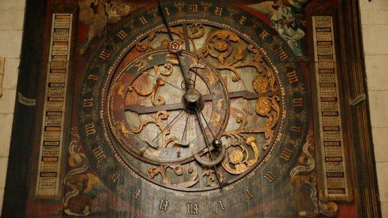 Relógio astronómico da Catedral de São Paulo, Muenster (Alemanha). Construído no final da idade média, vai funcionar até 2071