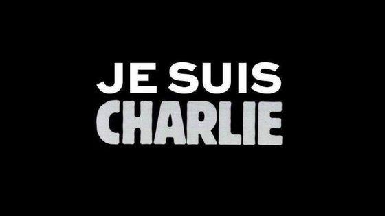 """""""Eu sou Charlie (Hebdo)"""" é uma das imagens que mais circula nas redes sociais."""
