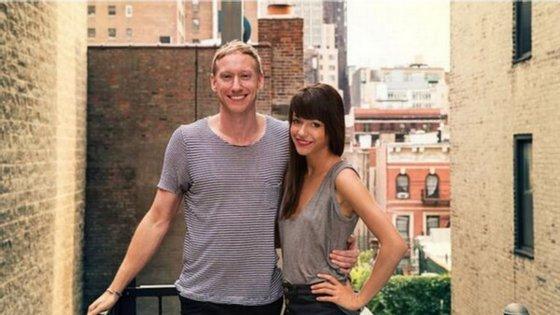 Tim Goodman e Jessica Walsh namoraram durante 40 dias e relataram