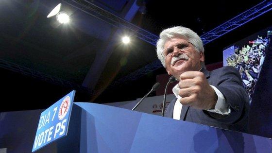 Vital Moreira foi candidato socialista nas eleições europeias de 2009