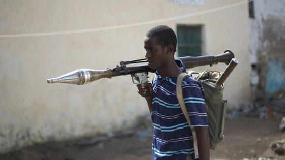 A organização terrorista al-Shabab tem organizado vários ataques na capital da Somália
