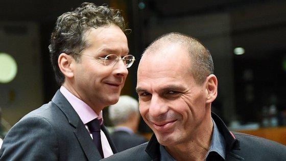 """Jeroen Dijsselbloem elogia o """"afinco"""" com que o Governo grego tem trabalhado nos últimos dias."""