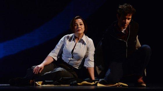 Ana Nave e João Reis são criadores e intérpretes do espetáculo cuja dramaturgia ficou a cargo de Maria Antónia Oliveira