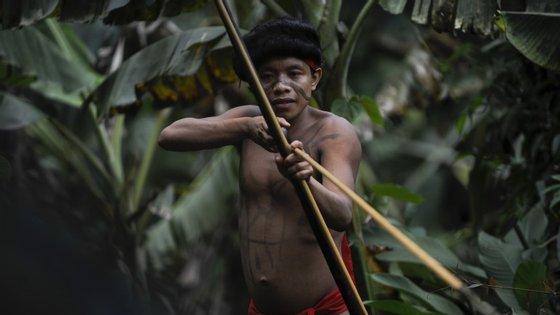 Os Yanomamí têm sofrido com a falta de condições de higiene