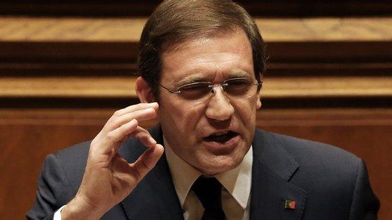 Passos Coelho voltou a pronunciar-se sobre a lista de contribuintes VIP