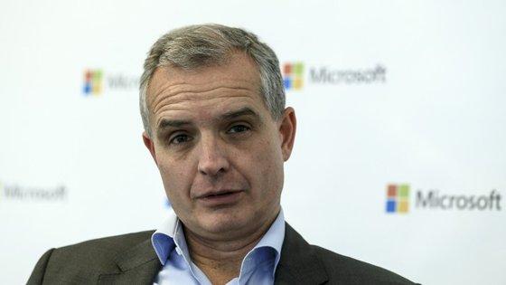 João Couto, o diretor-geral da Microsoft