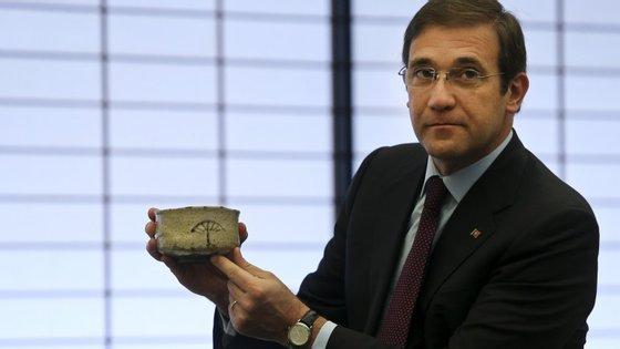 """Passos Coelho sublinhou que as previsões do banco central apontam que """"o investimento está a retomar com mais força"""""""