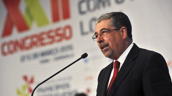 Manuel Machado é o presidente da Associação Nacional de Municípios