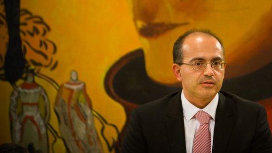 O recém-eleito presidente do Sindicato do Ministério Público, António Ventinhas