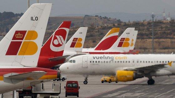 A Vueling Airlines é uma companhia aérea low-cost espanhola