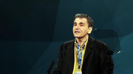 Euclid Tsakalotos é ministro-adjunto para as relações económicas internacionais.