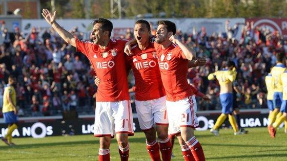 Jonas fez o novo golo no campeonato, antes de Lima marcar os seus 11.º e 12.º golos na liga