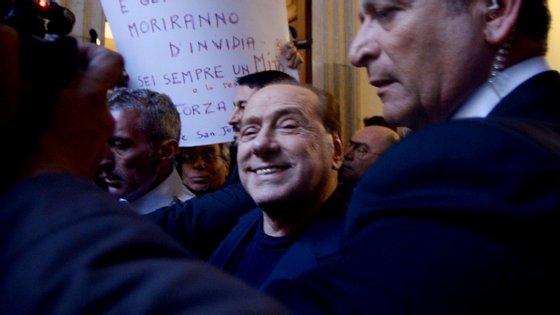 Berlusconi tem 78 anos