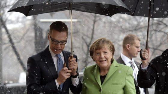 Alexander Stubb, primeiro-ministro da Finlândia, passou uma mensagem mais dura do que Merkel em relação à Grécia.